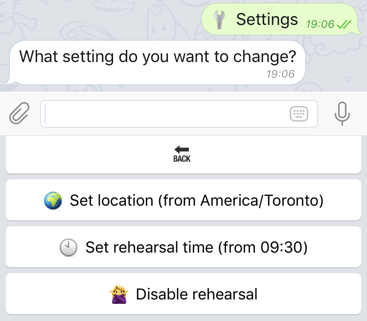 My experience creating a Telegram Bot